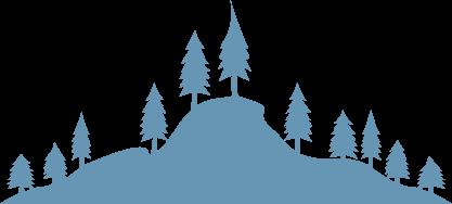 Logo Gribskov i blå